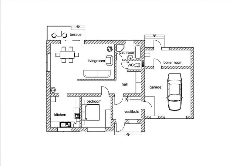 Plan 2D bien