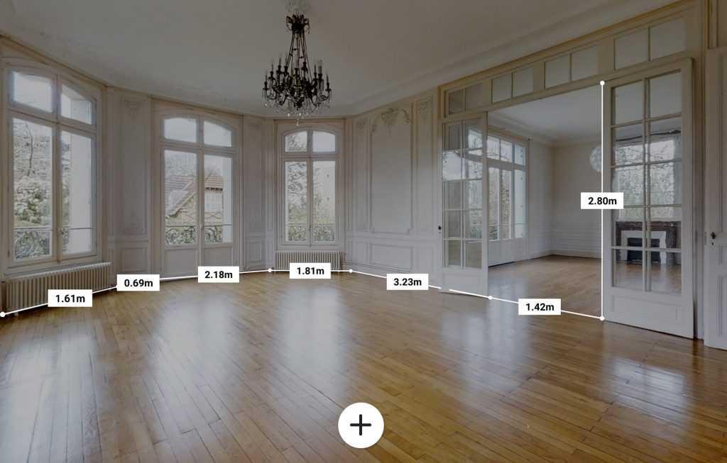 Visite virtuelle echelle